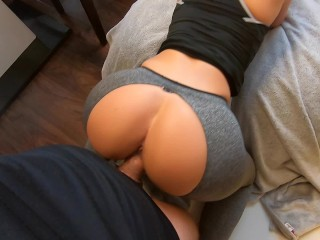 Quicky fuck and cum with college girl friend